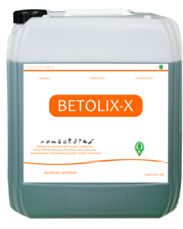 Betolix-X 20 litrów (przesyłka gratis)